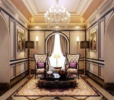 金色宮殿 奢華古典 歐式別墅 350平米 30-50萬
