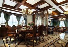 抱樸含真 華貴厚重美式 美式別墅 400平米 30-50萬左右