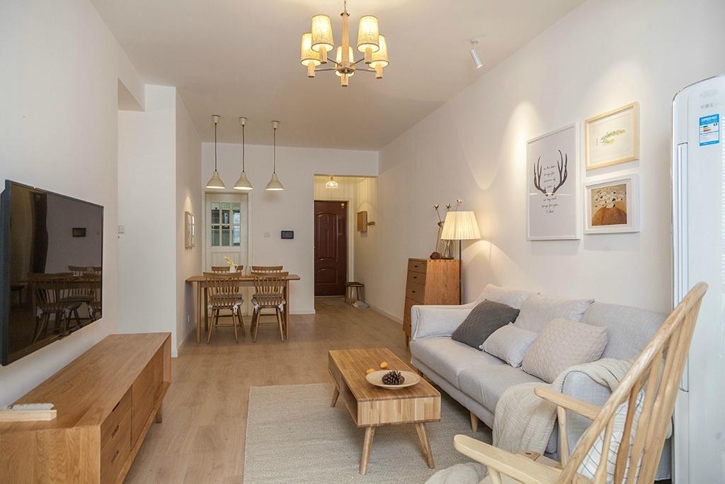 新家三房两厅装修,80平米新房报价8万,朋友看了都说好羡慕