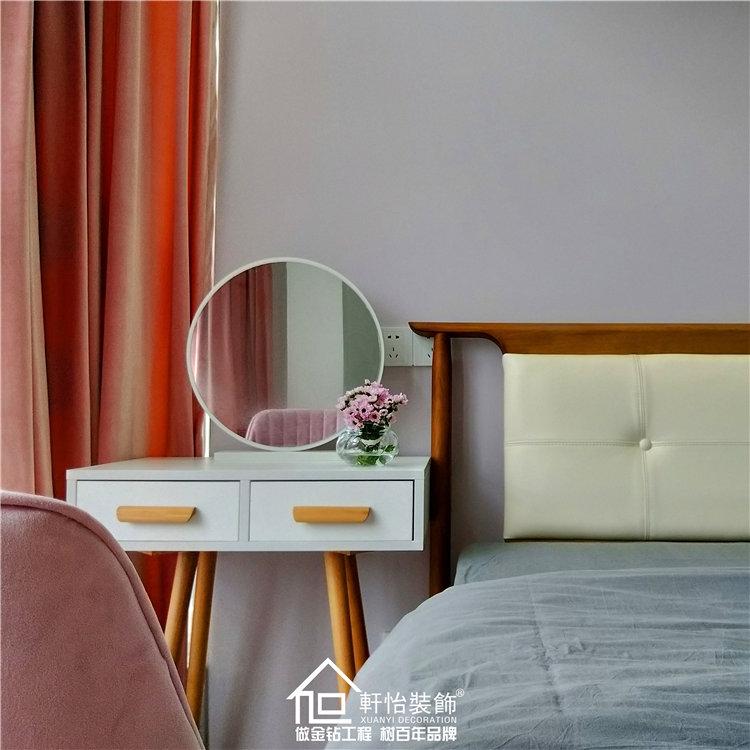 軒怡實景 | 90平舊房改造北歐風,油畫般的夢幻感美極了!